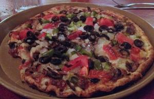 La Casa Veggie Pizza