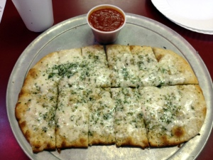 Frank's garlic cheese bread