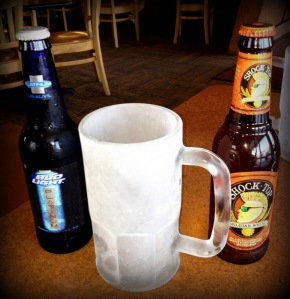 Ice cold beer and frosty mugs!